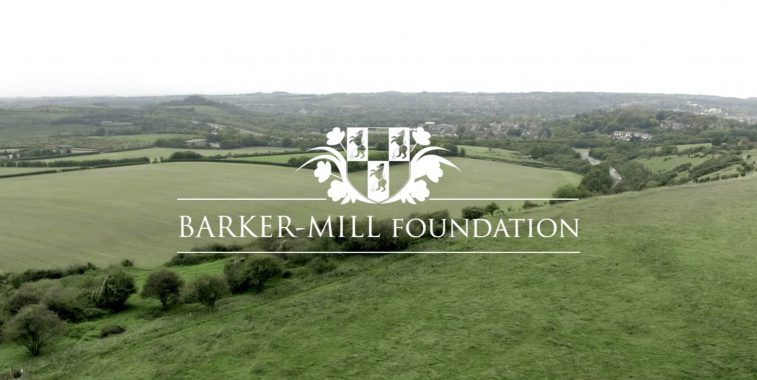 Poster for 'Barker Mill Foundation: A Little Goes a Long Way'